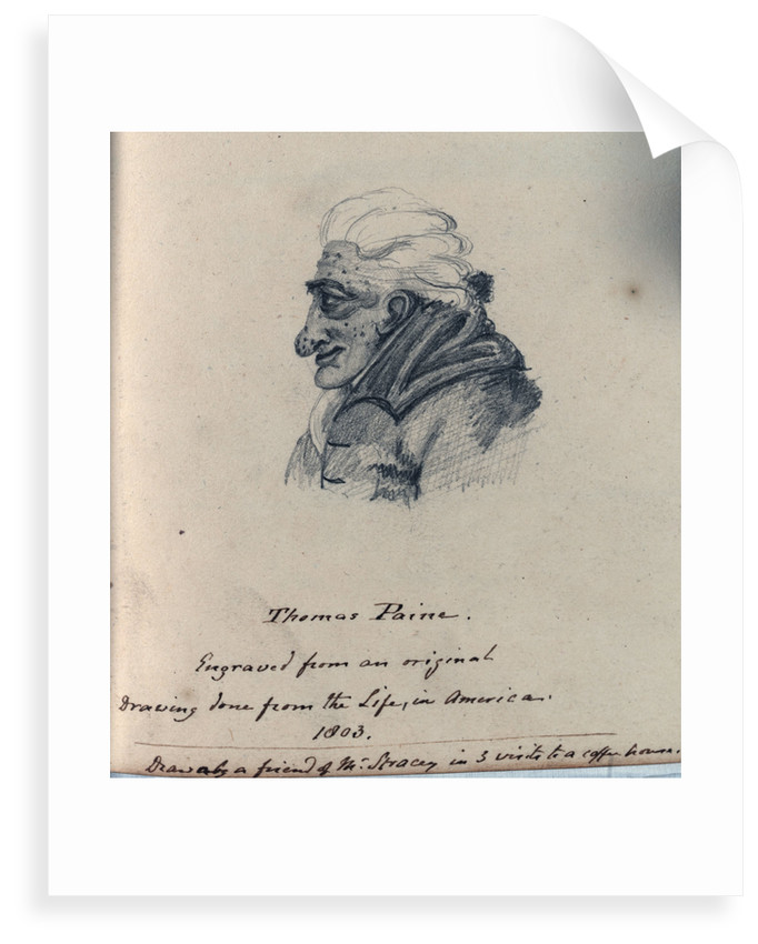 Thomas Paine by unknown