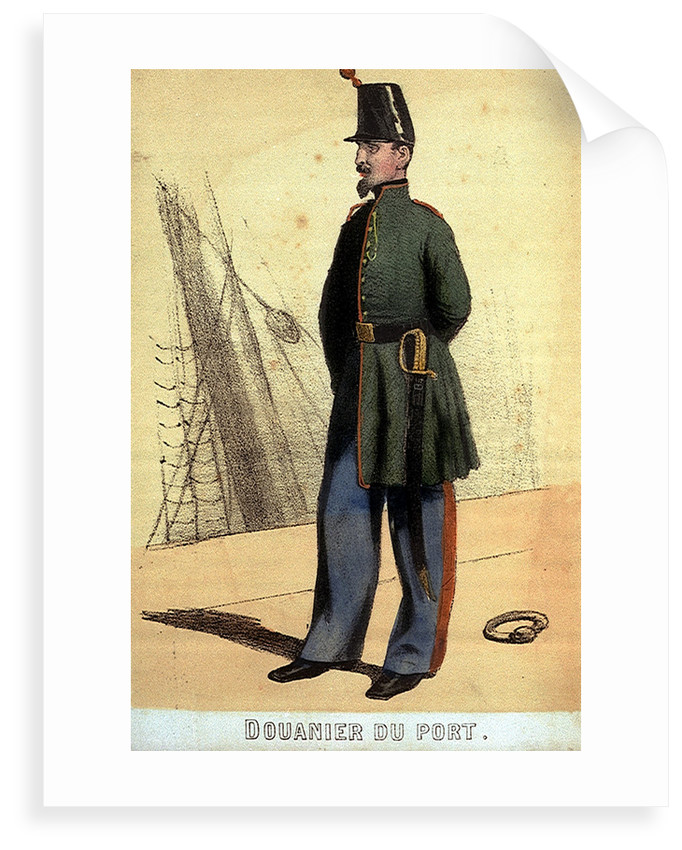 Douanier du Port by unknown