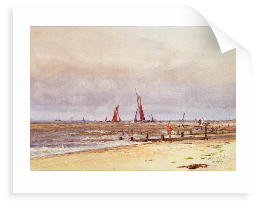 Shoeburyness from Yantlet by William Lionel Wyllie