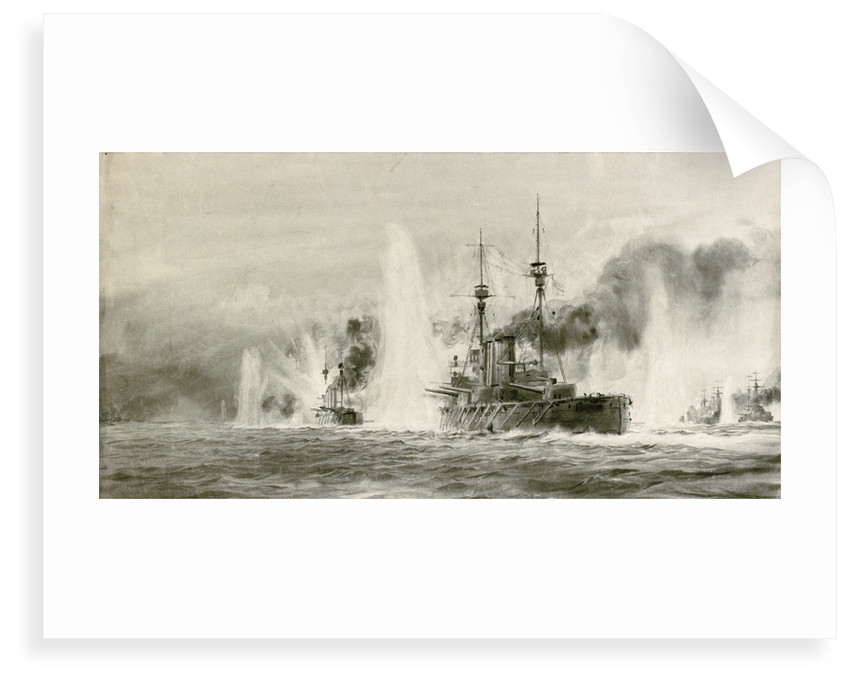 Jutland by William Lionel Wyllie