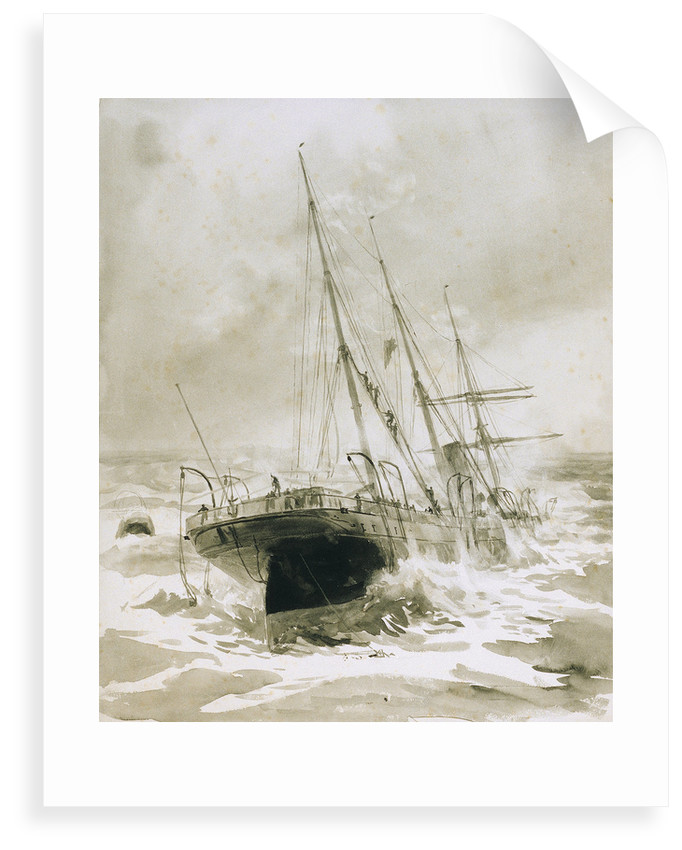 Shipwreck by William Lionel Wyllie