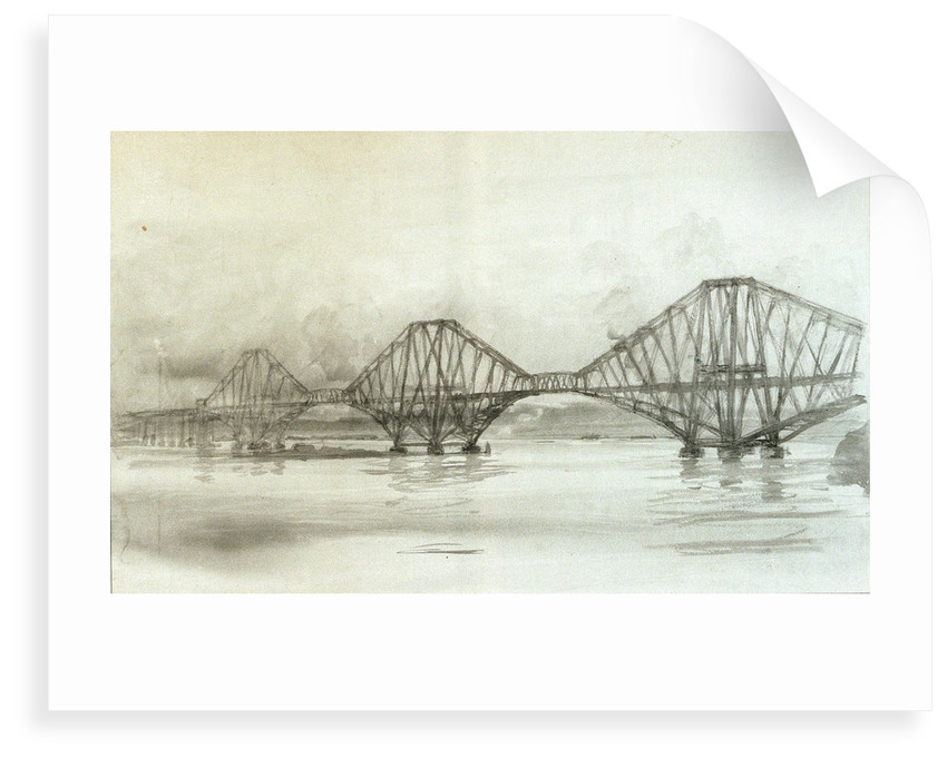Forth Bridge by William Lionel Wyllie