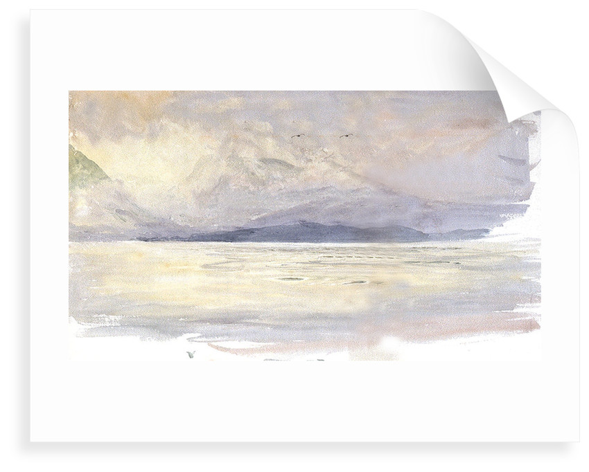 The Island of Arran, Scotland by William Lionel Wyllie