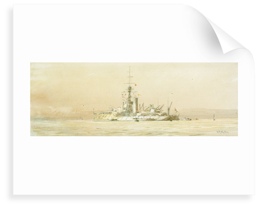 HMS 'Orion' by William Lionel Wyllie