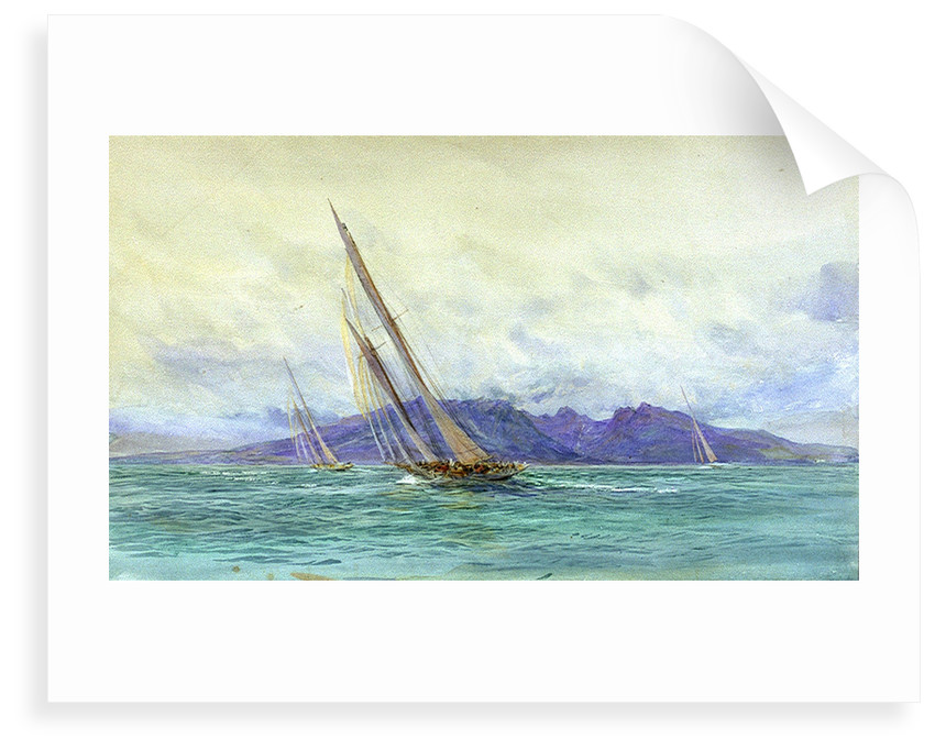 Arran by William Lionel Wyllie