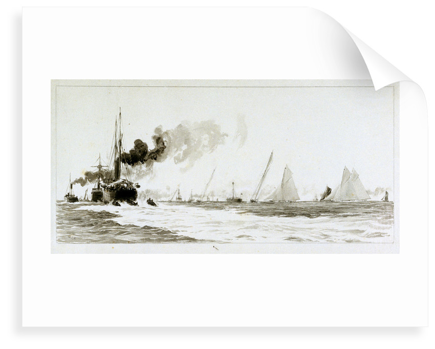 Yachts and steamers by William Lionel Wyllie