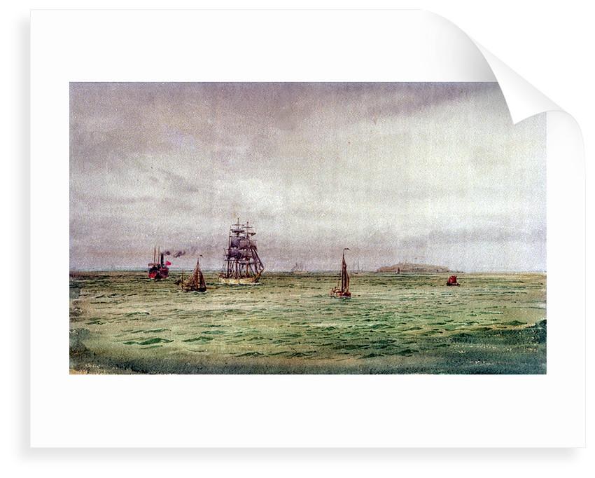 Off Copenhagen by William Lionel Wyllie