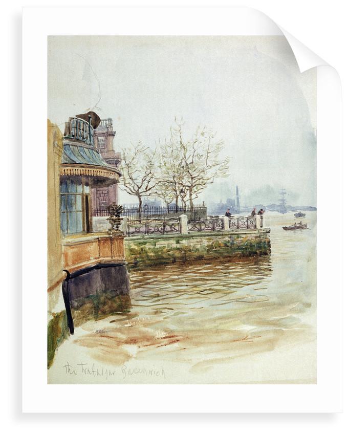 The Trafalgar Tavern, Greenwich by William Lionel Wyllie