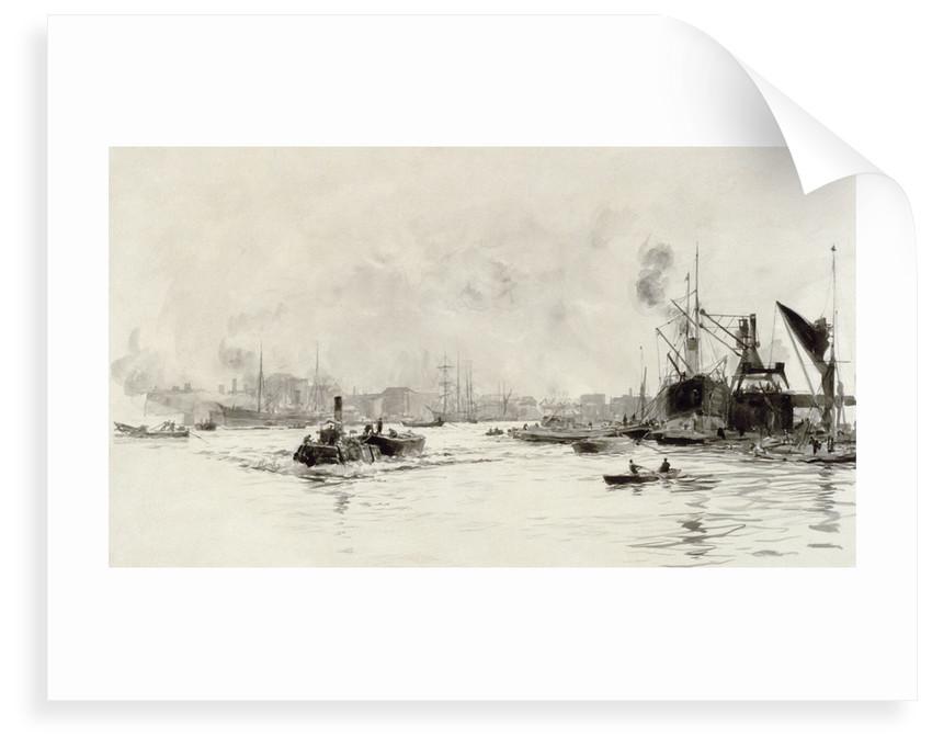 London River by William Lionel Wyllie