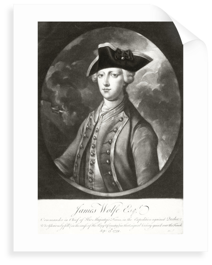 Commander James Wolfe by unknown