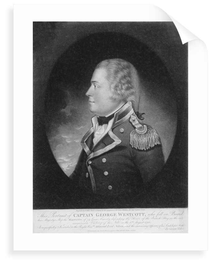 Captain George Westcott by E. Bell