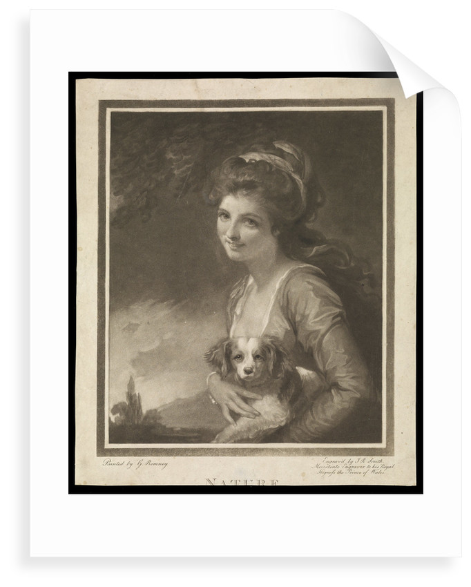 Emma Hamilton as Nature by George Romney