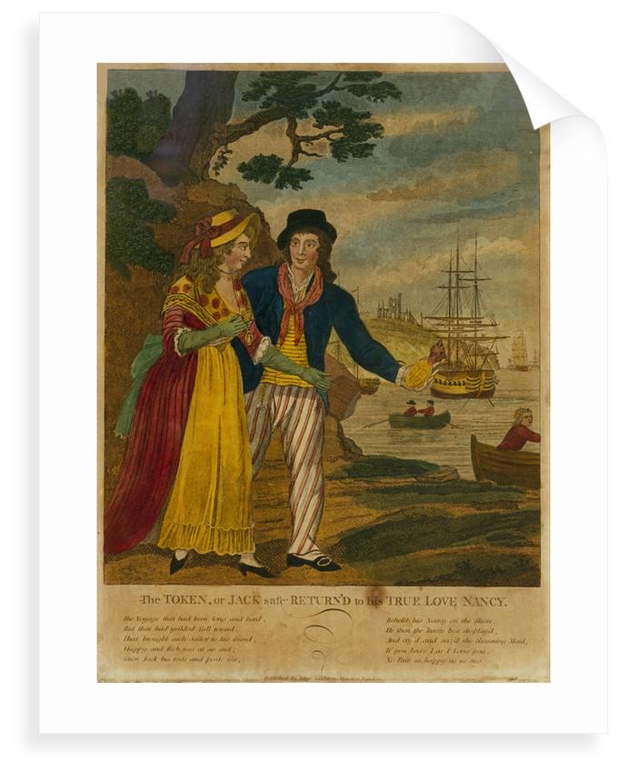 The Token, or Jack safe Return'd to his True Love Nancy by John Fairburn