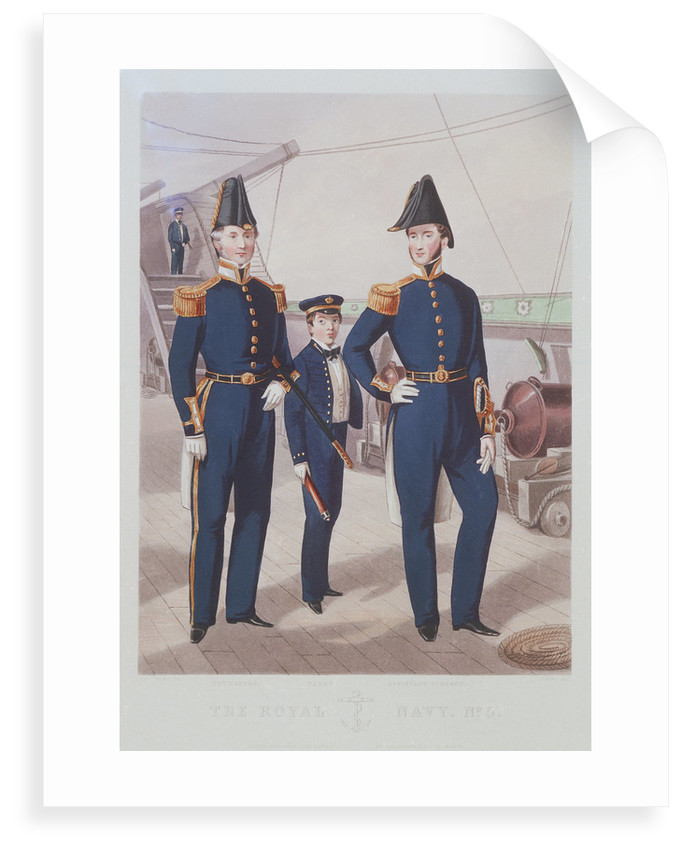 The Royal Navy. No 5. Paymaster. Cadet. Assistant Surgeon by R.H.C. Ubsdell