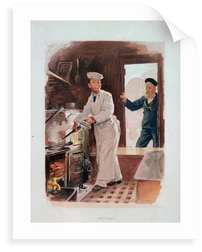 Ship's cook by W. Christian Symons
