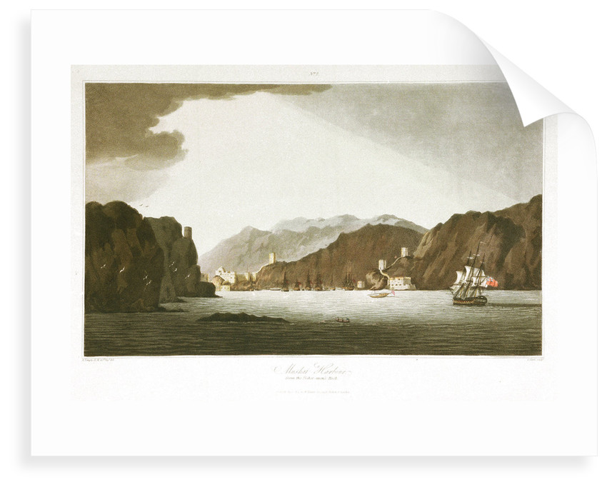 No. 2 'Muskat Harbour from Fishermens Rock' by R. Temple