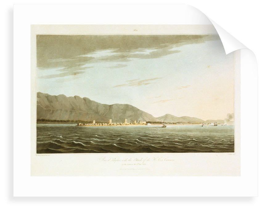 No. 5 'Rusul Khyma, with the attack of the H C-s Cruisers on the evening of 11 November 1809' by R. Temple