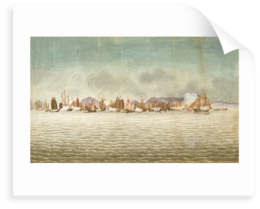 'Chinese War. 'Volage' & 'Hyacinth'?, 3 November 1839 by Millar