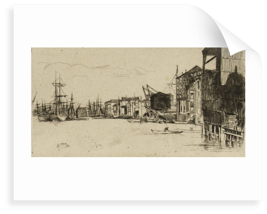 Free Trade Wharf by James Abbott McNeill Whistler