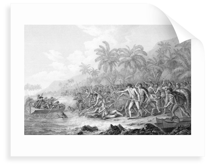 Death of Captain Cook by John Webber