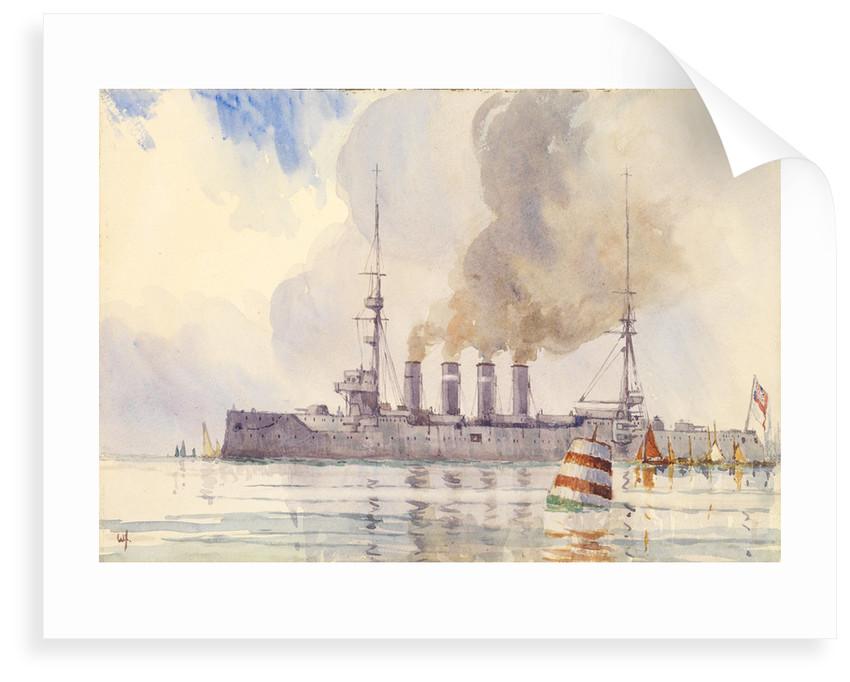 HMS 'Carnarvon' by W. H.