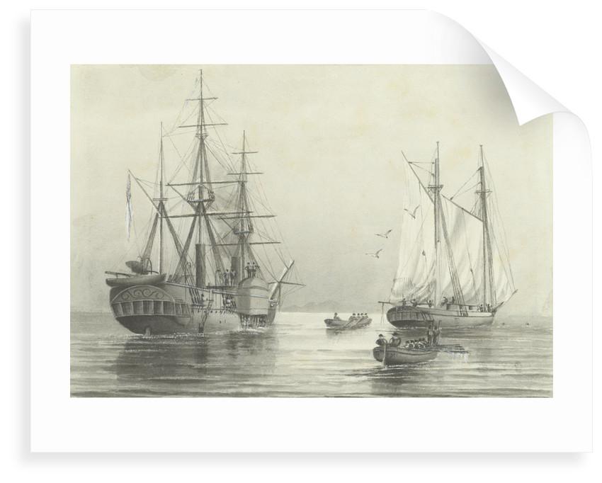 HMS 'Basilisk' by M.F. M.