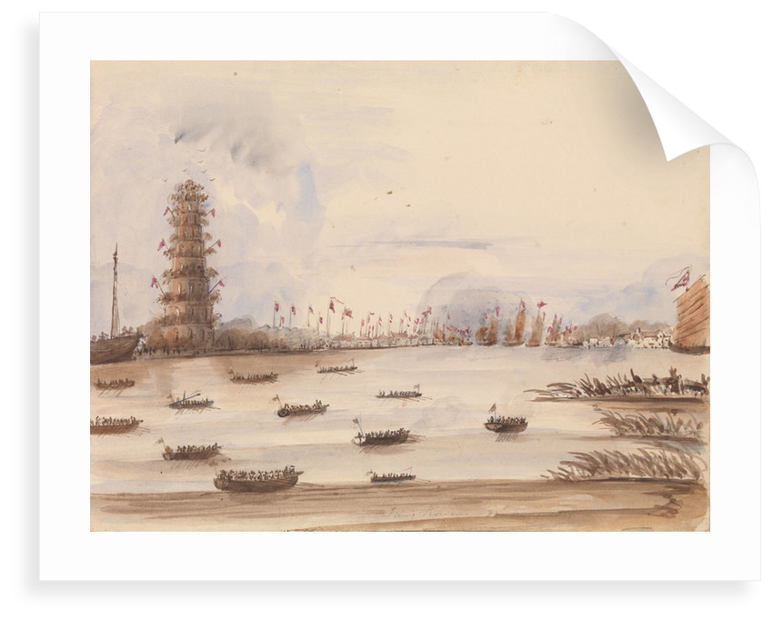 The attack on Tung Chow?, 27 May 1857 by Harry Edmund Edgell