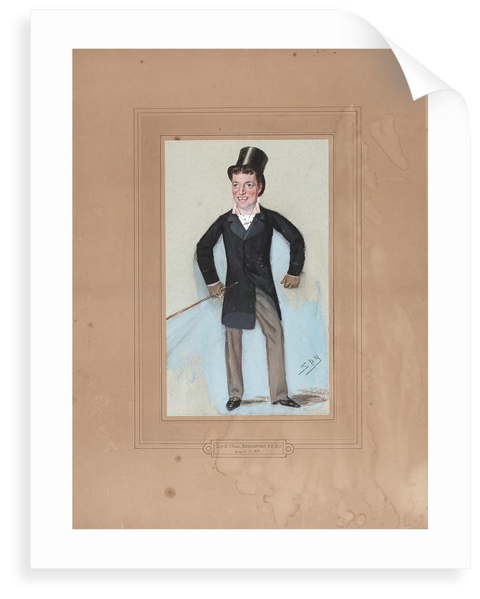 Admiral Charles William de la Poer Beresford (1846-1919) by Leslie Ward Spy