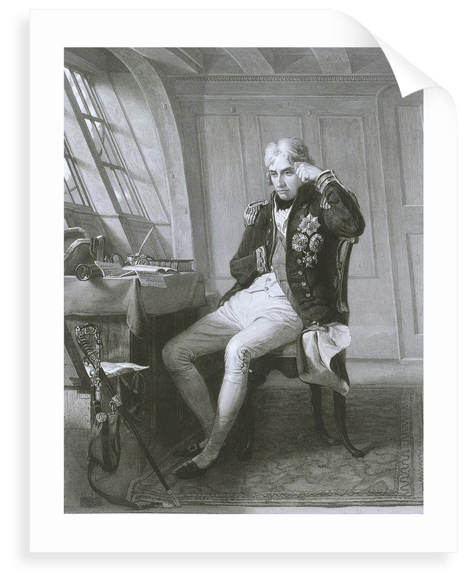 Nelson. Trafalgar 21 October 1805 by Charles Lucy