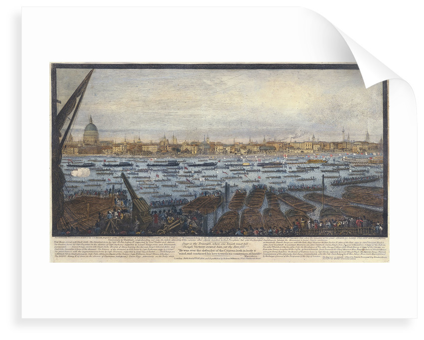 An accurate view... of London and Westminster... by John Thomas Smith