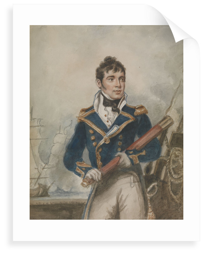 Captain Sir William Hoste (1780-1828) by unknown