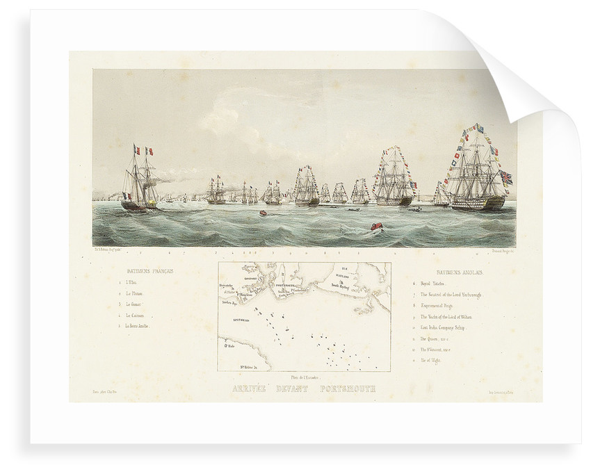 Arriving at Portsmouth by Thomas Sewell Robins