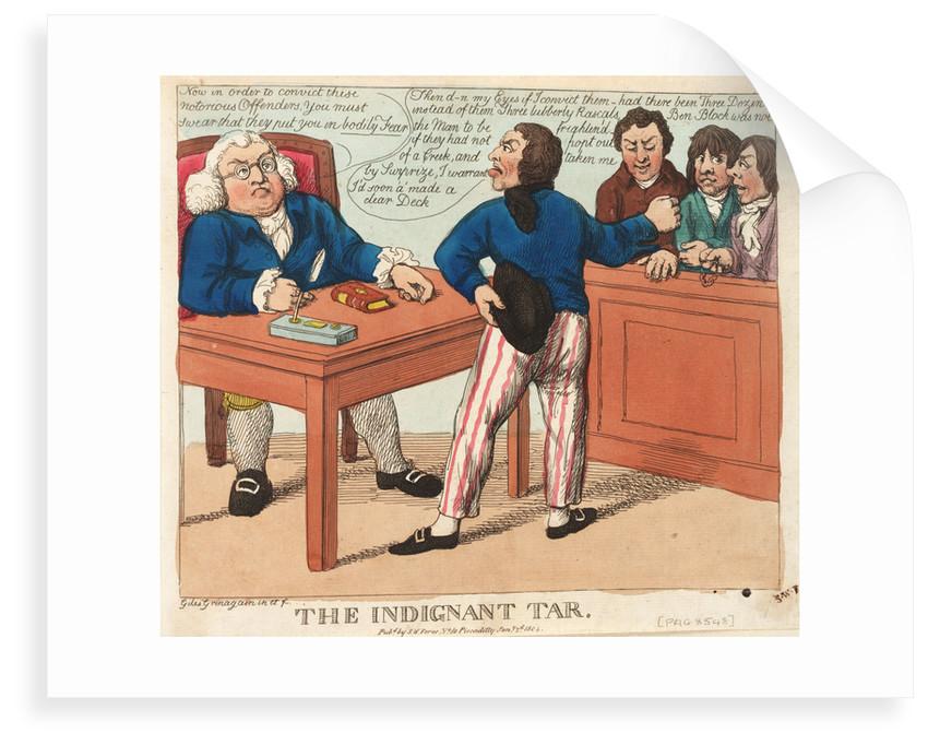The Indignant Tar by Giles Grinagain