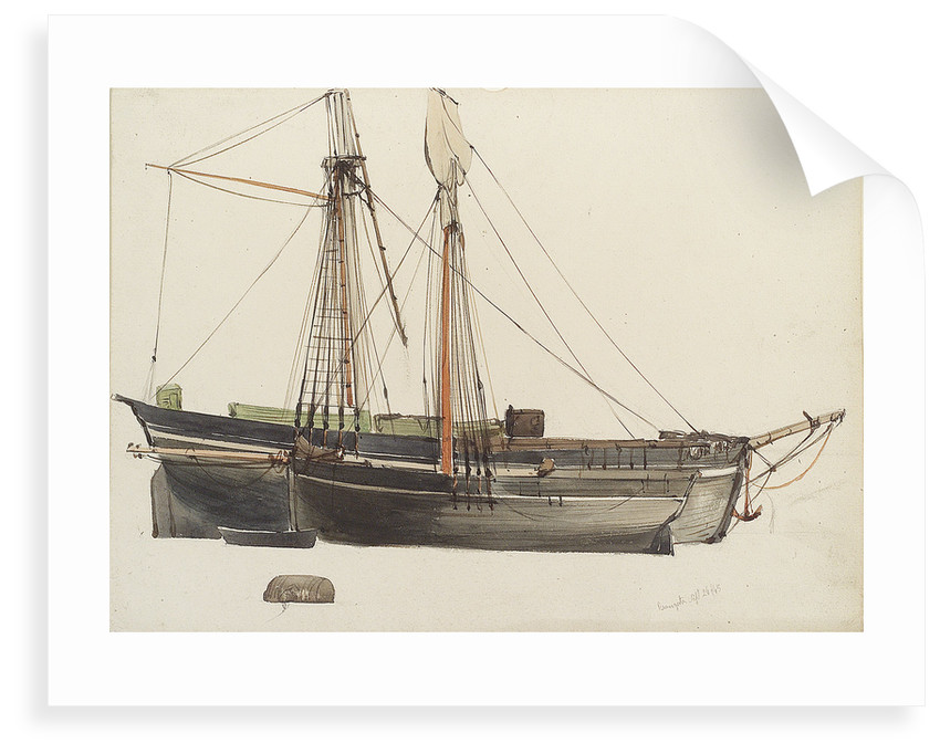 Ramsgate boats by Thomas Sewell Robins