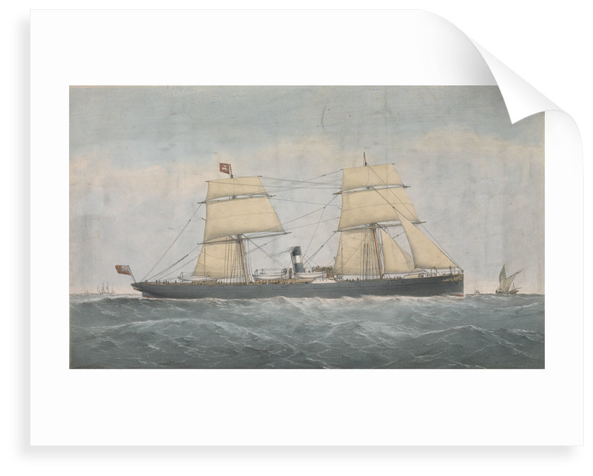 Steamer of the Stag? Line Joseph Robinson by unknown