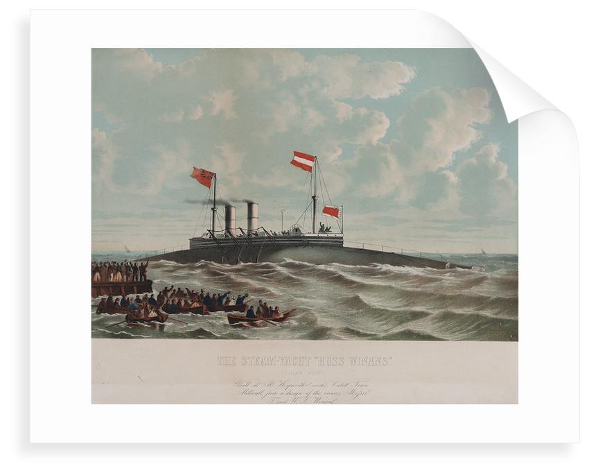 Steam yacht 'Ross Winans' (cigar ship) by Thomas Goldsworth Dutton