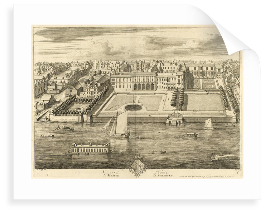 Somerset House by L. Knyff
