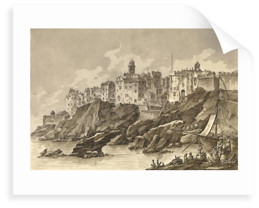Port of Bastia, Corsica by unknown