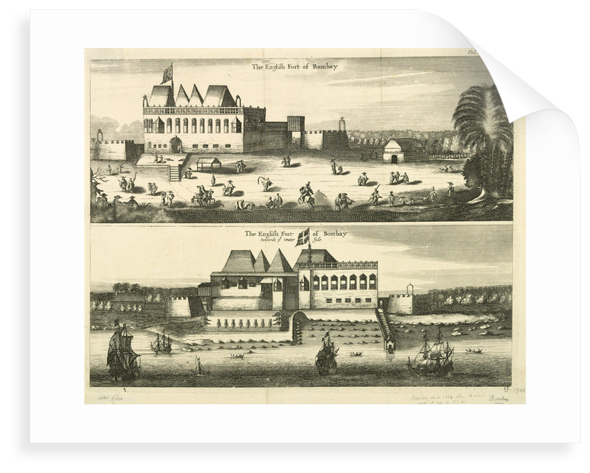 The English fort of Bombay by unknown