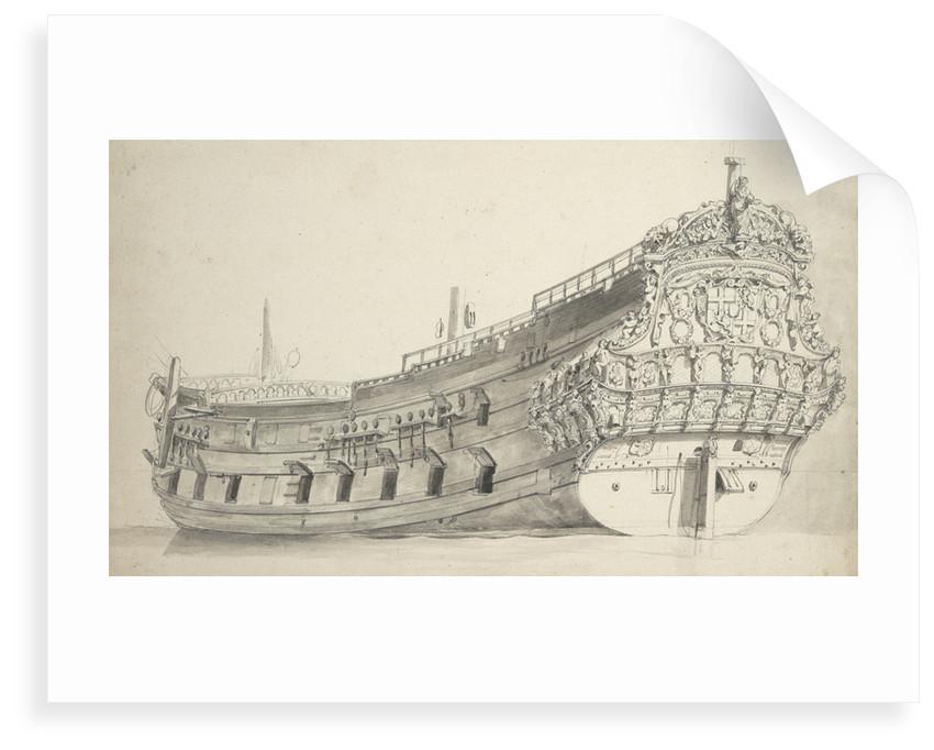 The 'Provincie van Utrecht' by Willem Van de Velde the Younger