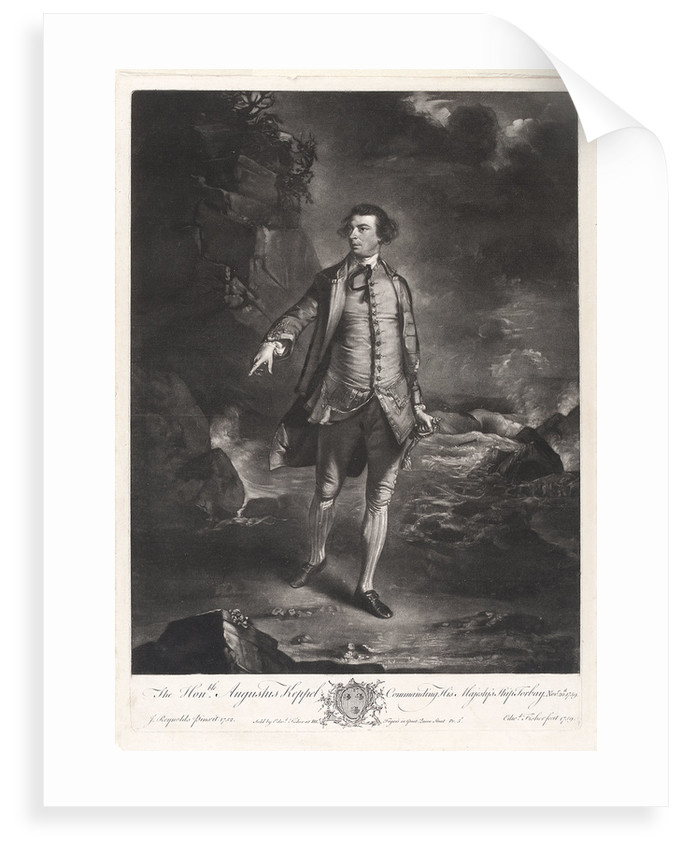 Augustus Keppel (1725-1786) by Joshua Reynolds