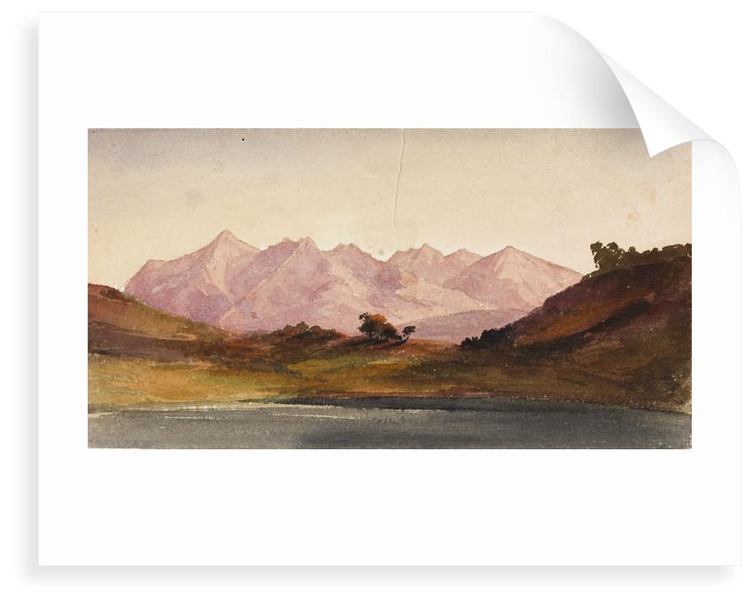 View from Loch Portree, Skye by Margaret Louisa Herschel