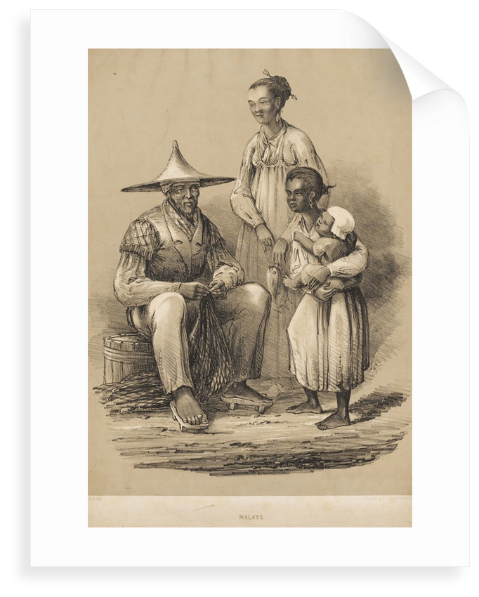 Malays by Charles Davidson Bell