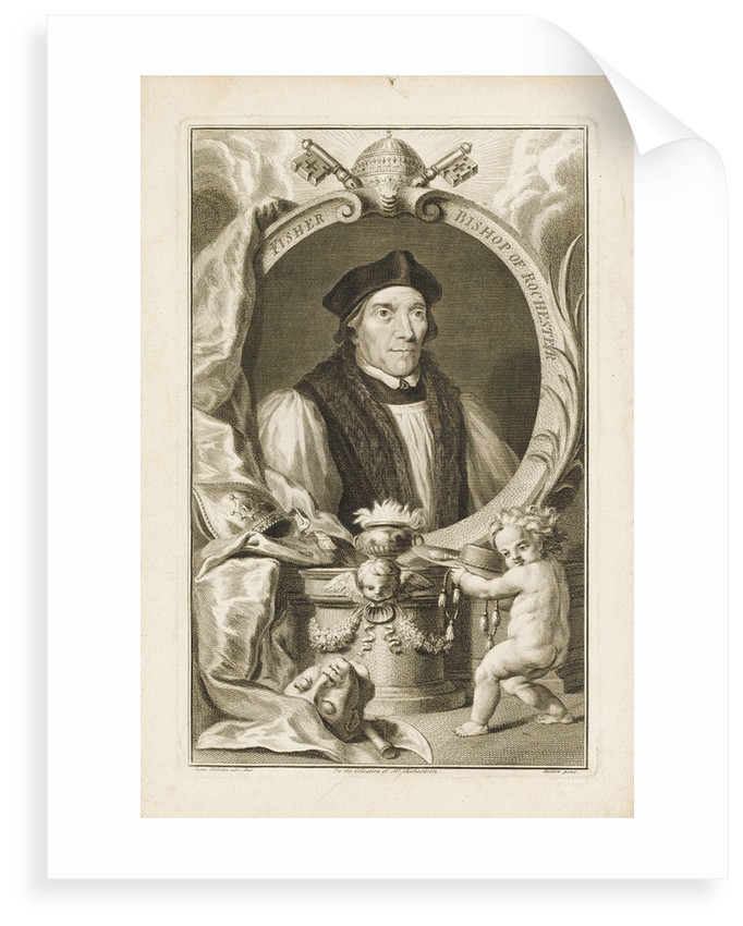 John Fisher, Bishop of Rochester by Hans Holbein