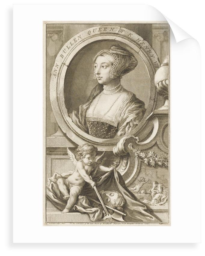 Anne Boleyn (d. 1536) by Hans Holbein