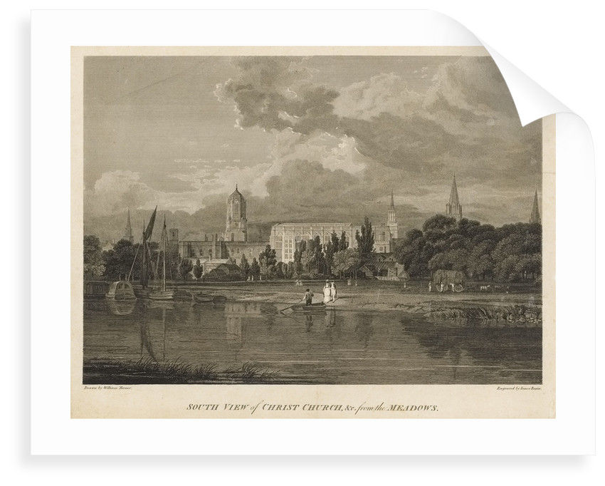 South view of Christ Church by William Turner