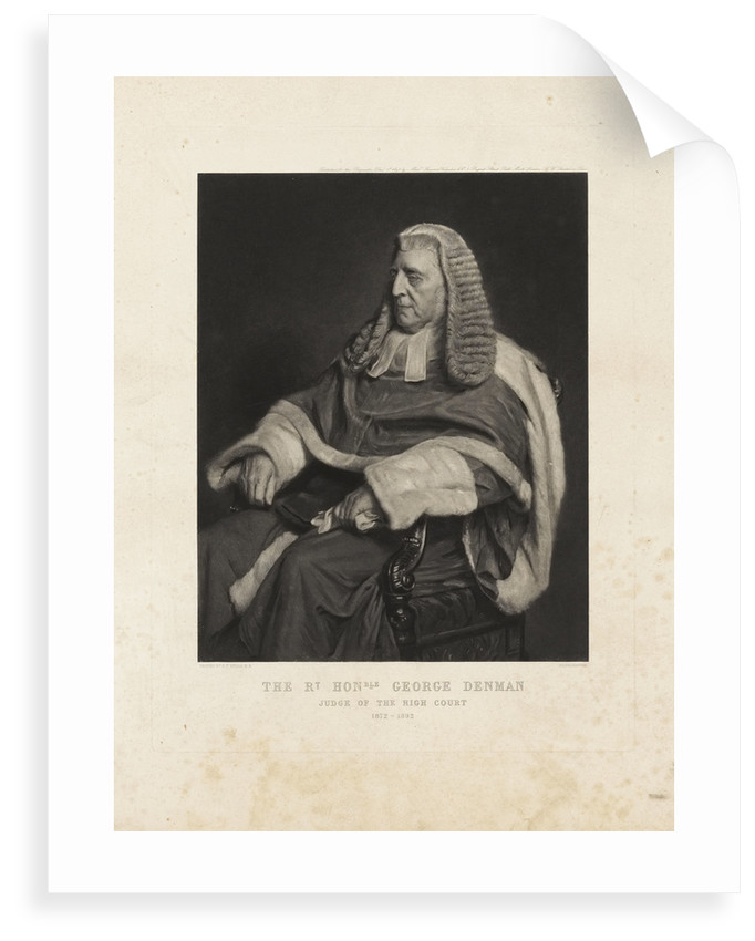 George Denman by Henry Tanworth Wells
