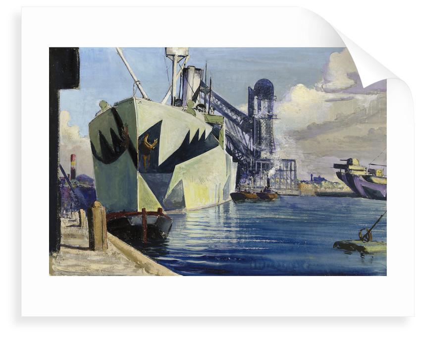 The Canada dock by John Everett