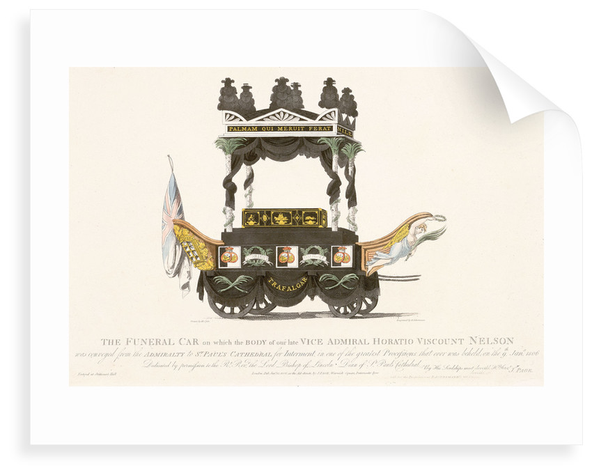 Nelson's funeral car by Mcquin