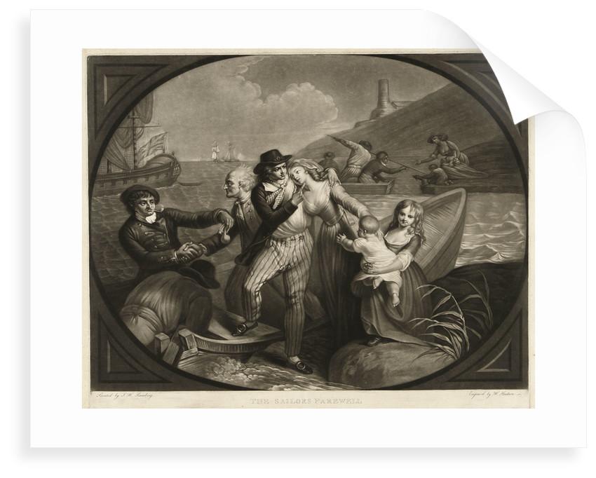 The Sailors Farewell by Johann Heinrich Ramberg